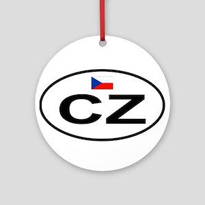 Czech Round Ornament
