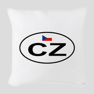 Czech Woven Throw Pillow
