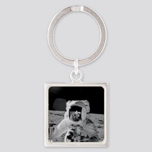 Apollo 12 Astronauts explore the M Square Keychain