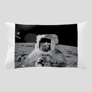 Apollo 12 Astronauts explore the Moon Pillow Case