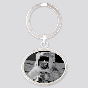 Apollo 12 Astronauts explore the Moo Oval Keychain