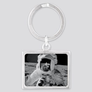 Apollo 12 Astronauts explore th Landscape Keychain