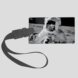 Apollo 12 Astronauts explore the Large Luggage Tag