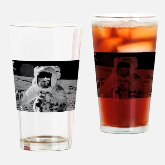 Apollo 12 Astronauts explore the Mo Drinking Glass