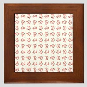 HAPPY BUNNY Framed Tile