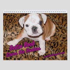 Bettie Boob helps Save the Boobies Wall Calendar