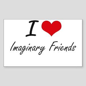 I love Imaginary Friends Sticker