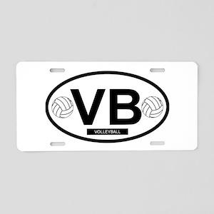 VB4 Aluminum License Plate