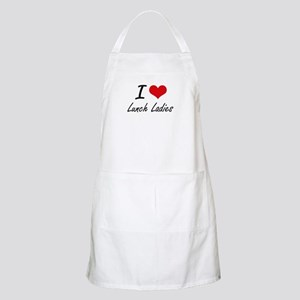I love Lunch Ladies Apron