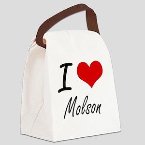 I love Molson Canvas Lunch Bag