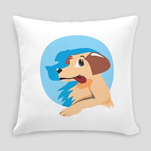 Dog Shadow Animal Everyday Pillow