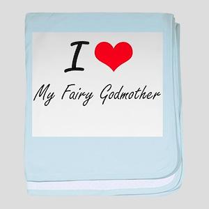 I love My Fairy Godmother baby blanket