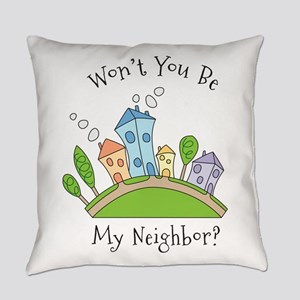 Wont You Be My Neighbor? Everyday Pillow