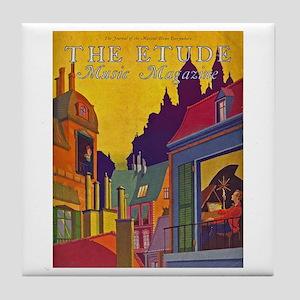 Etude 1929 Cover Tile Coaster