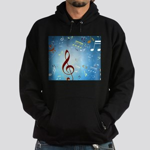 Musical Notes Hoody