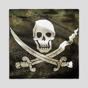 Pirate Flag Queen Duvet