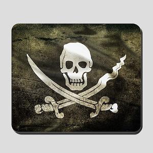Pirate Flag Mousepad