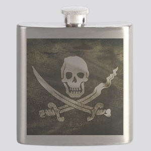 Pirate Flag Flask