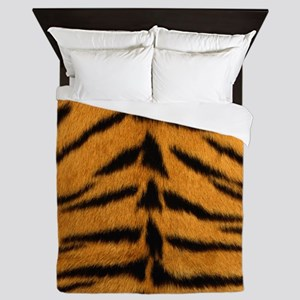 Tiger Fur Queen Duvet