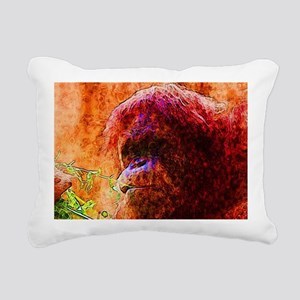 Abstract Animal Rectangular Canvas Pillow