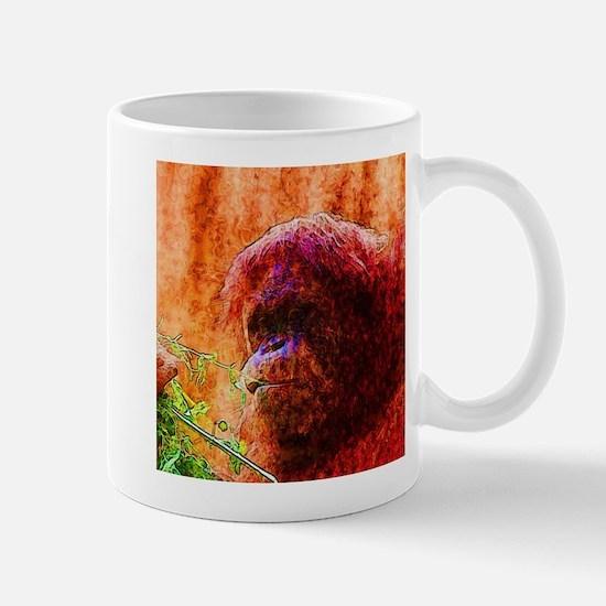 Abstract Animal Mugs