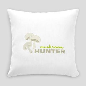 Mushroom Hunter Everyday Pillow