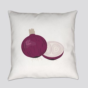 Red Onions Everyday Pillow