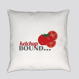 Ketchup Bound Tomato Everyday Pillow