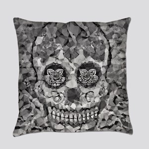Polygon Sugarskull Everyday Pillow