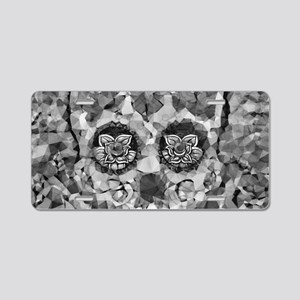 Polygon Sugarskull Aluminum License Plate