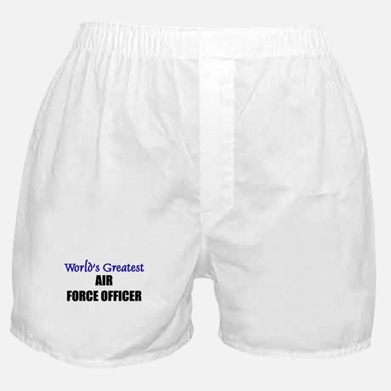 Worlds Greatest AIR FORCE OFFICER Boxer Shorts