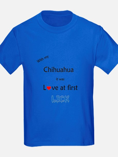 Chihuahua Lick T