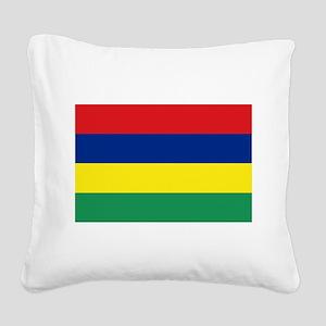 Mauritius Square Canvas Pillow