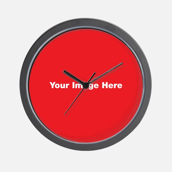 Your Image Here Wall Clock