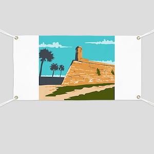 Fort Marion St. Augustine WPA Banner