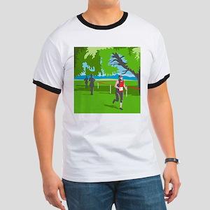 Marathon Runner Running WPA T-Shirt