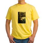 Otter Paradise Yellow T-Shirt