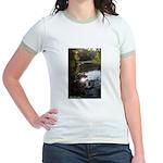 Otter Paradise Jr. Ringer T-Shirt