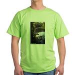 Otter Paradise Green T-Shirt