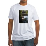 Otter Paradise Fitted T-Shirt