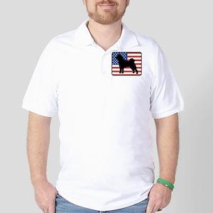 American Akita Golf Shirt