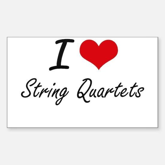 I love String Quartets Decal