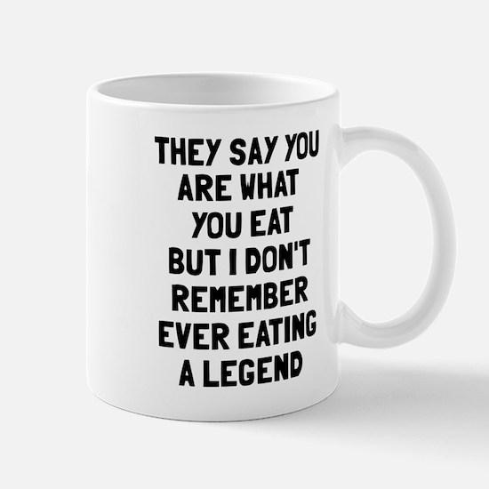 I don't remember eating legend Mug