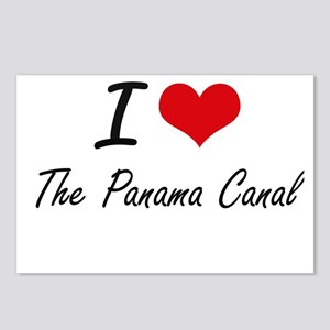 I love The Panama Canal Postcards (Package of 8)
