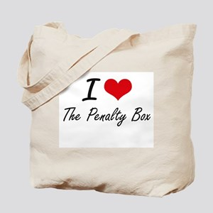 I love The Penalty Box Tote Bag