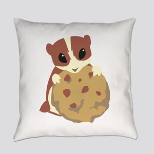 Squirrel Animal Food Everyday Pillow