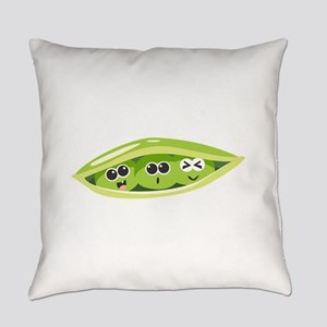 Sweet Pea Vegetbale Everyday Pillow