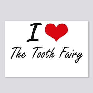 I love The Tooth Fairy Postcards (Package of 8)