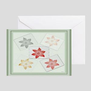Poinsettia's Greeting Card