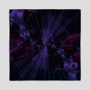 Shattered in Purple Queen Duvet